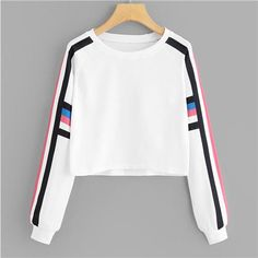 Women's Casual Autumn Long Sleeve Winter O-Neck print Sweatshirt Sudadera Mujeruotelab - Sports Sweatshirts, Cute Sweatshirts, Printed Sweatshirts, Cute Shirts, Teen Fashion Outfits, Trendy Outfits, Cool Outfits, Fashion Women, Style Feminin