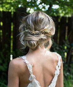 accessoires cheveux coiffure mariage chignon mariée bohème romantique retro, BIJOUX MARIAGE (13)