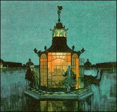 Alexander Benois — Chinese Pavilion — early 20th century