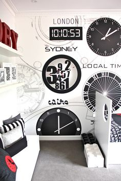 Mr Perswall wallpaper - LOCAL TIME  www.mrperswall.se    Styling: www.littleliberty.com