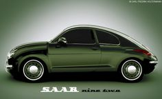 """About 10 years ago, During the New York car show, Victor Muller took the opportunity to substantiate rumors of an """"upcoming Saab or which he wants it. Retro Cars, Vintage Cars, Saab Automobile, Cool Car Pictures, Car Pics, Saab 900, Small Cars, Car Show, Motor Car"""
