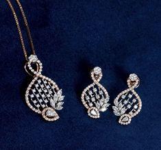 Rose Gold Pendant, Diamond Pendant, Diamond Jewelry, Diamond Rings, Gold Jewelry Simple, Simple Necklace, Pendant Design, Pendant Set, Pendant Earrings