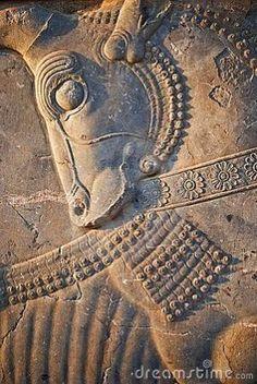 Horse carving at Persepolis, Iran TX2: dreamstime.com by tara