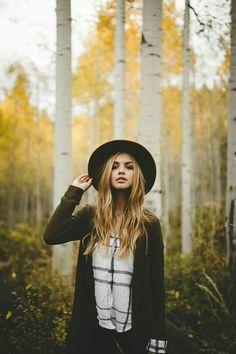 Rustic, woodsy photoshoot.
