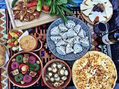 Georgian traditional cuisine