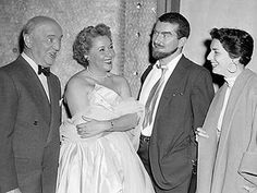 Vivian Vance and William Frawley with Bob Carroll Jr and Madelyn Davis