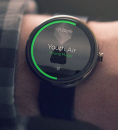 Moto 360 / Music Player#Android Wear