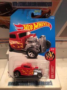 Hot Wheels '32 Ford Red Exposed Engine HW Flames #6/10 Die-Cast 1:64 Scale   Toys & Hobbies, Diecast & Toy Vehicles, Cars, Trucks & Vans   eBay!