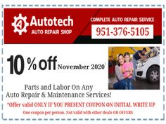 Alignment Service Coupon Riverside CA
