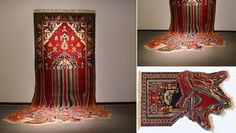Creating Physical Distortions Into Traditional Carpets - iCreatived