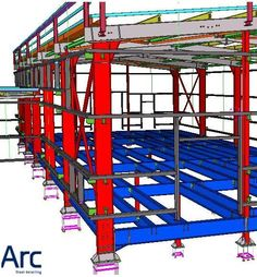 140 best 3d bim model steel construction detail images steel detail steel structure beams - Steel framing espana ...
