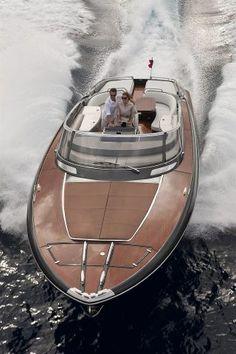 External view Riva Yacht – Rivarama Super – Vehicles is art Riva Boat, Yacht Boat, Yacht Design, Boat Design, Speed Boats, Power Boats, Yacht Luxury, Luxury Boats, Bateau Yacht