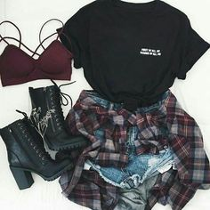 Stil, Kleidung und Mode - # # # # , outfits style summer teenage frauen sommer for teens outfits Teenage Outfits, Teen Fashion Outfits, Mode Outfits, Grunge Outfits, Look Fashion, Girl Outfits, Sporty Fashion, Sporty Chic, Fashion Pics