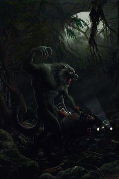 werewolf by ptrepan.deviantart.com