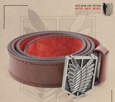 Attack On Titan cool fashion The survey corps belt