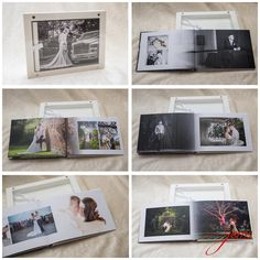 Beautiful Graphistudio GoBook created to look like a picture frame and kept out in the home rather than kept in a cupboard.