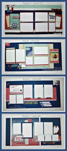 Scrapbook Kit Cutting Guides Created by Tina Lovell To help make your job faster, simpler and easier, I have made my Scrapbook Kit cu. Cruise Scrapbook, Birthday Scrapbook, Christmas Scrapbook, Disney Scrapbook, Travel Scrapbook, Scrapbook Cards, Scrapbook Layout Sketches, Scrapbook Templates, Scrapbook Designs