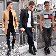 Coat, leather jacket or better shirt? 1,2 or 3 ? Tell me your fav
