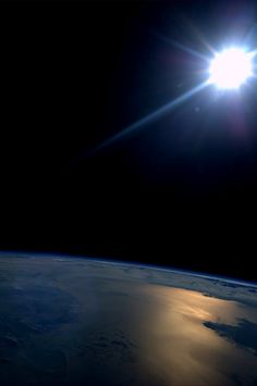 Just another sunset...  One of 16 each day on the International Space Station.  Taken August 10, 2013.  KN from space.