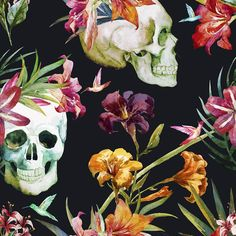 """Walls Need Love Buried Treasure Removable 5' x 20"""" Floral Wallpaper"""