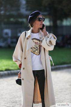 Outside Loewe / Paris Fashion Week SS18 #parisfashionweeks,