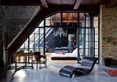 Un loft éclectique