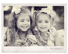 CUTEST little girls EVER and beautiful photography!