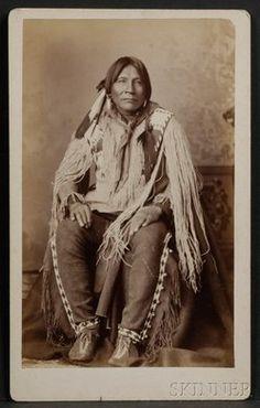 Jicarilla Apache man - no date