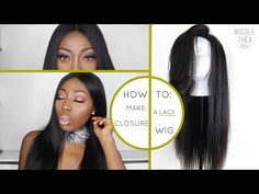 HOW TO: MAKE A LACE CLOSURE WIG (START TO FINISH) | FT. ALIEXPRESS YOLISSA HAIR - YouTube