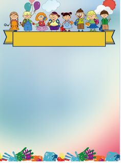 School Board Decoration, School Decorations, Kids Background, Cartoon Background, Borders For Paper, Borders And Frames, Crown Clip Art, Powerpoint Background Templates, School Border