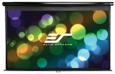 Discount $37.01 from $219.00 - Elite Screens M128UWX Manual Projection  Like, Repin, Share it  #todaydeals #deals #ChristmasDeals  #discounts #sale #Television