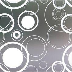 Retro Dots Privacy Window Film contemporary-window-treatments