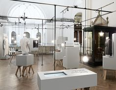 Dandy exhibition design by Form Us With Love