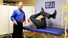 Famous Physical Therapists Bob Schrupp and Brad Heineck describe 3 top ways to stretch your IT Band- your Iliotibial Band. Make sure to like us on FaceBook h...