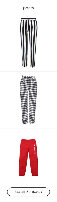 """pants"" by brigi-bodoki ❤ liked on Polyvore featuring pants, capris, bottoms, trousers, black, cropped pants, women, woven pants, river island and tall pants"