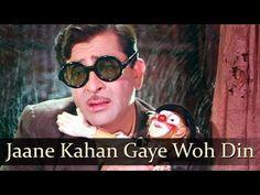 Jaane Kahan Gaye Woh Din - Raj Kapoor - Mera Naam Joker - Bollywood Clas...