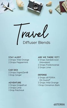 Even while traveling you can use diffuser blends to benefit you. Try these fun new travel diffuser blends. Don't have a diffuser you can travel with? Don't sweat it. There are tons of simple DIY diffusers you can take with you on your travels. Doterra Diffuser, Essential Oil Diffuser Blends, Doterra Essential Oils, Young Living Essential Oils, Cedarwood Essential Oil Uses, Yl Oils, Cedarwood Oil, Qi Gong, Aromatherapy Oils