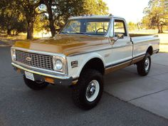 CALIFORNIA NATIVE 1971 CHEVY SUPER CHEYENNE K/20 4x4 WITH FACTORY AIR, image 3