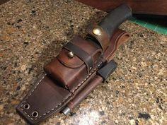 Bushcraft Messer, Bushcraft Knives, Leather Pouch, Cow Leather, Leather Craft, Handmade Leather, Knife Sheath Making, Knife Making, Knives
