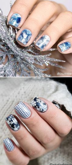 #Christmas nails, do you like the #holidaynails? Try it and make your this festival more wonderful! #bornpretty