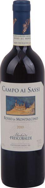 In stock - 20,89€ 2010 Frescobaldi Campo Ai Sassi, Rosso di Montalcino, red dry , Italy - 88pt