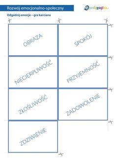 Odgadnij emocje - gra karciana - ePedagogika Gra, Bar Chart, Bar Graphs