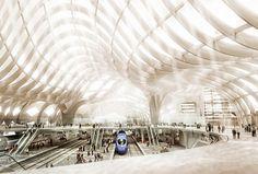 astana railway station lava03 pic on Design You Trust