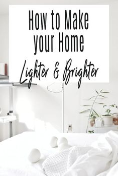 We all want our homes to look lighter and brighter, it not only lifts our moods but also makes our home look fresher and more spacious. Here are some simple hacks to bring more light into your home #lighting #home #interiors #light Small Homes, Lighting Solutions, Home Hacks, Beautiful Space, Home Look, Home Renovation, Storage Solutions, Decorating Tips, Lighter