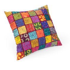 Jewel Squares Pillow