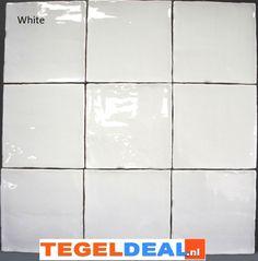 Tegels Limburg - Oud hollandse witjes, 13x13 cm á 34,00, replica handvorm wandtegel - Tegeldeal.nl