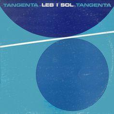 Leb i Sol, Tangenta (1984) I Design by Ljubomir Pavičević Fis - bakelite cover