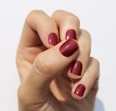 Etsy の Solid Wine Nail Wraps by SoGloss