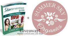 Enter to win a copy of the Skintervention Guide & $50 Summer Sky Organics gift certificate! http://purelyprimalskincare.com/skincare-saturday-skintervention-summer-sky-organics-giveaway/