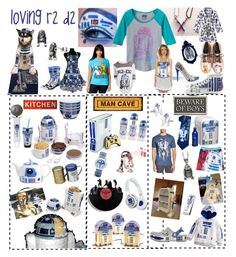 """""""r2 d2, my favorite Star Wars character!!"""" by troyer-ba on Polyvore featuring R2, ThinkGeek, Zak! Designs, SMS Audio, ASOS, Cufflinks, Inc., Crocs, Bioworld, Junk Food Clothing and Han Cholo"""
